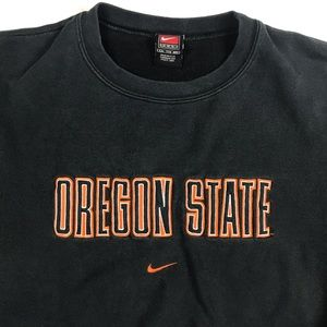 VTG 90's Oregon State Beavers Crewneck Sweater